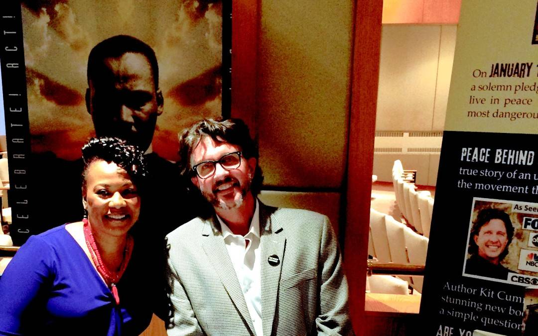 Kit's Book Signing at the MLK Center with Bernice King