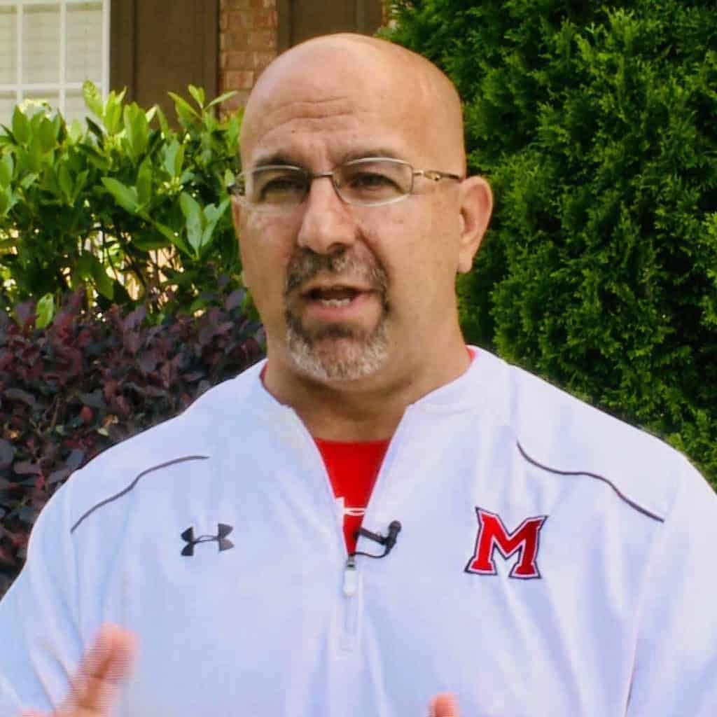 Milton High Athletic Director Gary Sylvestri